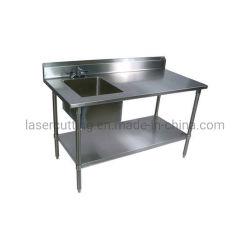 Acero inoxidable cocina y bar los sumideros como Servicio de lavandería lavabos, fregaderos portátiles, y drenajes