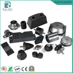 Il gel di silice di gomma legato personalizzato del silicone del metallo di rame di alluminio del fornitore parte i prodotti