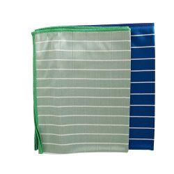 Ткань из микрофибры для очистки из бамбука полотенце