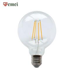 مصابيح LED خمر خمر LED للتحكم في WiFi G45 Dimmable LED Globe مصباح LED E14 E27 الأساسي مع لمبة LED 6 وات RoHS CE