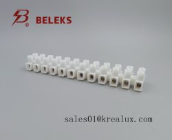 94-V2 grau T85 450V Bloco terminal de plástico padrão da UE VDE marcação CQC UL Blocos terminais de parafuso de metal T06-M12 (P) Natural de polipropileno