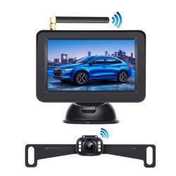 Système de Surveillance de sécurité de voiture avec kit de caméra de marche arrière sans fil de la vision de nuit
