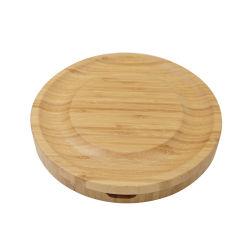 竹製丸チーズボード