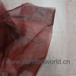 Tessuto In Poliestere Jacquard Organza Curtain