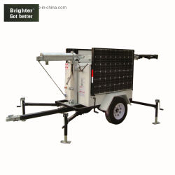 Emergency Arbeits-Sonnenenergie-bewegliches Aufsatz-Licht mit LED und Umgebung schützen sich