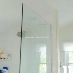 8mm 10mm dekoratives ausgeglichenes Floatglas-Dusche-Panel