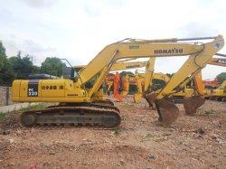 1つの年の保証の自由に予備品が付いている使用された有名なブランドの小松のクローラー掘削機PC220-7、昇進のトラック坑夫PC210 PC200 PC220
