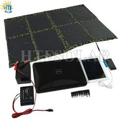 kampierende Spielraum-angetriebene Solaraufladeeinheit der Universalitäts-80W für iPod Batterie iPhone Samsung (HTF-F80W)