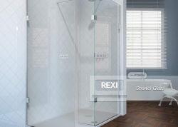 8mm 10mm 12mm clairement un manque de fer salle de douche en verre dans l'ensemble y compris le matériel