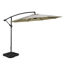 Ombrello d'attaccatura del parasole della mobilia del giardino del patio a mensola esterno del cortile
