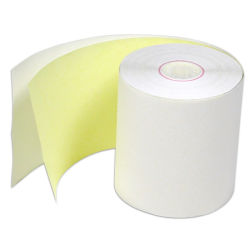 Multi-Layer Carbon-Less Calculador de rolo de papel para papel NCR Bankcb CFB CF