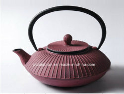 熱い販売のInfuserの中国の浮彫りにされた鋳鉄のティーポット