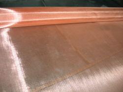 Serti tissé soudé en laiton de tissu de fil de cuivre en bronze phosphoreux Mesh