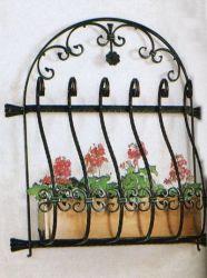 Metales Acero hierro ornamentales Grill de seguridad de Windows Windows Windows parrilla de hierro forjado.