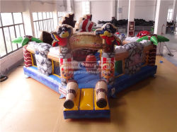 Multi-Play Pirate Bouncer Inflatable Combo