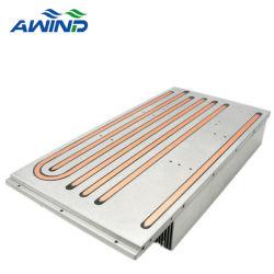 Высокая мощность обработки ЧПУ алюминиевый радиатор с медной трубки на базовой станции