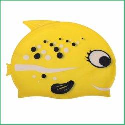 En silicone souple de haute qualité bonnet de bain pour enfants