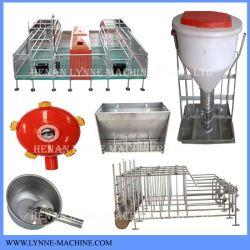 خنزير قناة السبك مزرعة يرفع تجهيز مع مغذّ, صندوق شحن, ماء شارب