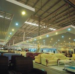 Estructura de acero de la luz de prefabricados durables para supermercados