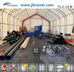 大きい屋外の鋼鉄産業記憶ファブリック建物(JIT-308515PT)