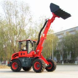 Landwirtschaftlicher Traktor mit vorderer teleskopischer Arm-Ladevorrichtung der Ladevorrichtungs-Tl1500 50HP EPA
