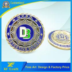 卸し売りカスタム金属の芸術のクラフトの軍の記念品の硬貨のデザインロゴ(CO-12)の記念する作業の金属の挑戦硬貨
