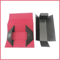 Imprimé en carton personnalisées Coffrets cadeaux de pliage du papier de vin vin vin vin boîte Boîte cadeau Emballage boîte en carton