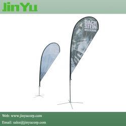 Asta per striscioni Flying Flying Flag in fibra di vetro in alluminio da 4,3 m.