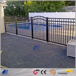 Stahlröhrenzaun mit Puder beschichtete für Garten-Swimmingpool-Wohnwerbung