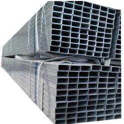 Square e retangular médio a quente de aço galvanizado a estrutura do prédio de corpos ocos