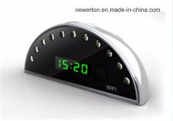 تصميم جميل 1080p Night Vision Mini DVR WiFi Camera Clock كاميرا فيديو Survalance