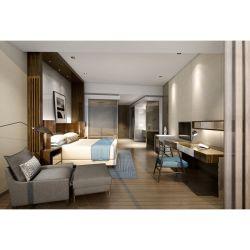 Modern Custom 5 estrelas Hotel Madeira Mobiliário Quarto Cama Definir Foshan fabricante de móveis