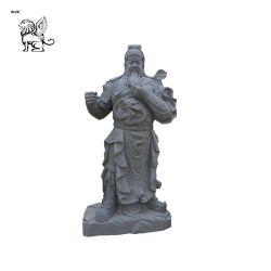 中国図Guanのどらの大理石の石の彫像Mfsg-35