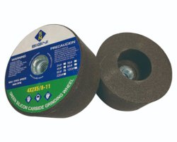 Meule de carbure de silicium vert pour le Granite marbre 4X2X5/8-11