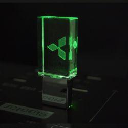 4GB 8GB 16GB 32GB水晶透過メルセデスのロゴUSBのフラッシュ駆動機構2.0のメモリ駆動機構の棒のペン