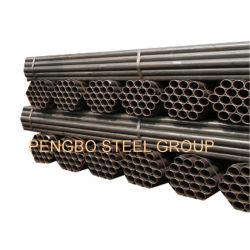 Costura recta a los REG tubería sin costura soldada de acero al carbono