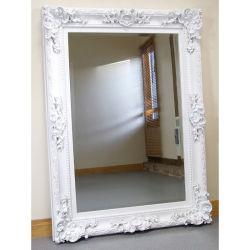 Hotel Home regalos decorativos enorme piso espejo con marco de madera