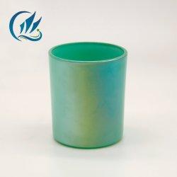 Banheira de venda personalizada de Grau Alimentício jarros de Velas em vidro colorido