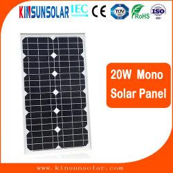 高く効率的な20W Solar Energy力モノラルモノクリスタルPVのパネル