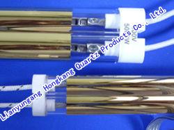 Heidelberg, Roland, Kba Máquina para Two-Hole Double-Barreled Gold-Plated Tubo de aquecimento por infravermelhos, Gold-Plated Tubo de aquecimento
