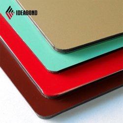 colore fresco 3mm di 1220*2440mm che decora il comitato dell'alluminio della parete interna