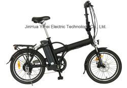 La lumière de la ville de 20 pouces vélo électrique pliable avec batterie au lithium