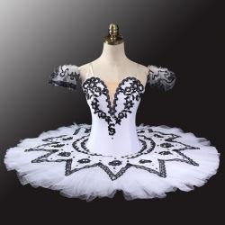 محترفة صنع وفقا لطلب الزّبون بيضاء رقص أداء لباس [تثتث] باليه مرحلة زيّ