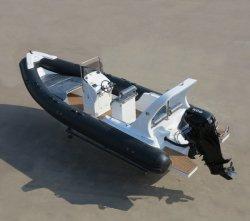 Battello da diporto gonfiabile rigido della nervatura dell'imbarcazione a motore/vetroresina 14persons di Aqualand 23feet 7m (RIB700D)