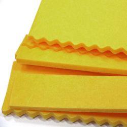 型抜きし、折り目が付く材料のための接着剤が付いているエヴァのゴム
