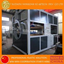 Plastik-LDPE-Bewässerung-Wasser-Hochgeschwindigkeitsrohr-Produktions-Strangpresßling-Zeile des PET-HDPE-LLDPE