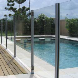 De Balustrade van het Glas van het aluminium voor Openlucht1.5kn Glas 10mm~17.52mm