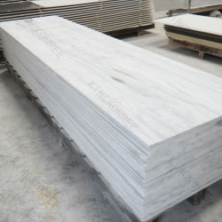 Großhandelswand-Fassadenelement-Preis-Marmor wie 12mm Fahrwerk-Marmor-Einfassungs-fester Oberflächen-geänderter und reiner fester acrylsauerlageplan