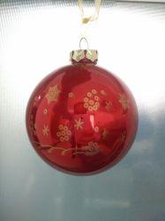 Bola de cristal Ornamento de Navidad