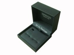Élégante cravate personnalisé haut de gamme en cuir Bijoux Cadeaux Cufflink boîtes d'emballage